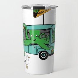 Flock of Gerrys Octo's Taco Cart by Seasons Kaz Sparks Travel Mug