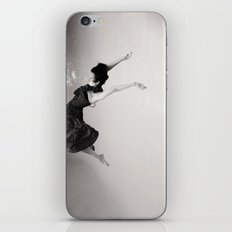 A Girl (Underwater) iPhone & iPod Skin