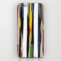 subway iPhone & iPod Skins featuring Subway by Myles Hunt