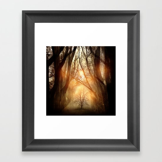 Searching Dreams Lost Framed Art Print