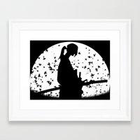samurai champloo Framed Art Prints featuring Jin - Samurai Champloo by Proxish Designs