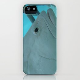 The White Guy iPhone Case