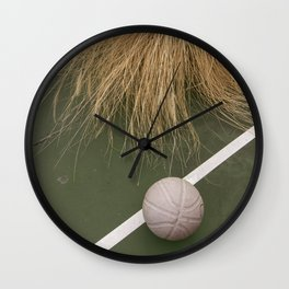 Paradise Basketball Wall Clock