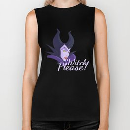 Witch Please! - Maleficent Biker Tank