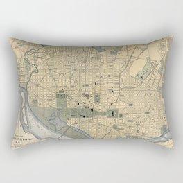 Washington D.C. 1893 Rectangular Pillow