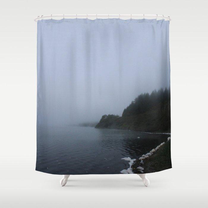 Lost Dusk Shower Curtain