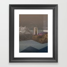 atmosphere 12 · Point of Entry Framed Art Print