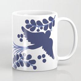 Talavera Blue Bird Coffee Mug