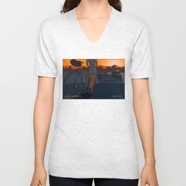 The Last Ferry Unisex V-Neck
