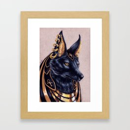 Anubis Framed Art Print