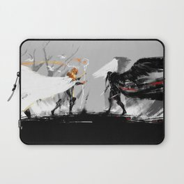Vax and Keyleth Laptop Sleeve