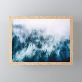 Out Of The Darkness - Nature Photography Framed Mini Art Print