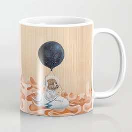 Poodle dog - Mission to Mars - Spacex - Space dog Coffee Mug