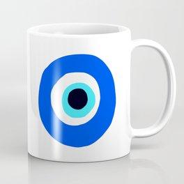 LOVE Greek Eye Design Coffee Mug