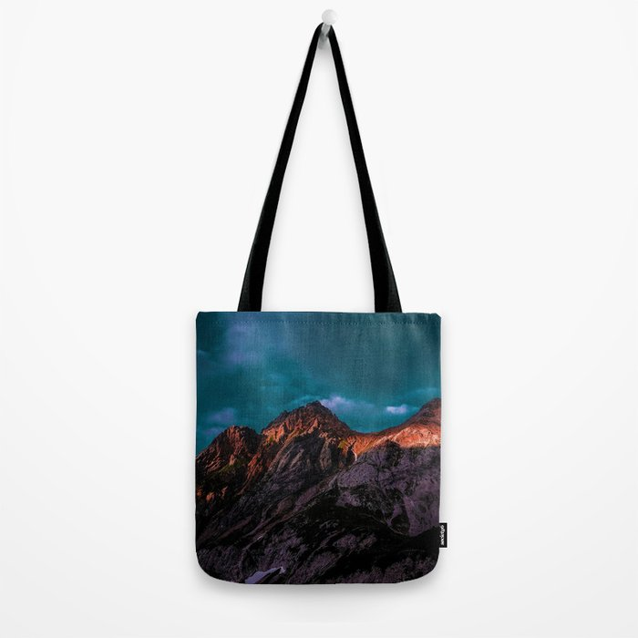 The Volcano Mountain (Color) Tote Bag