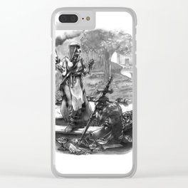 Call to Arms Clear iPhone Case