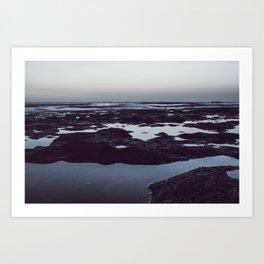 Quietness sea Art Print
