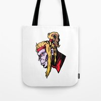 xmen Tote Bags featuring x28 by jason st paul