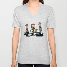 Jazz Hands! Unisex V-Neck