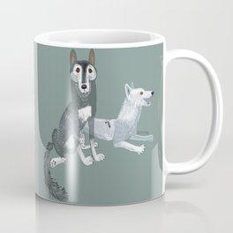 Canis lupus mackenzii (c) 2017 Coffee Mug