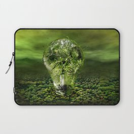 The old bulb culture Laptop Sleeve