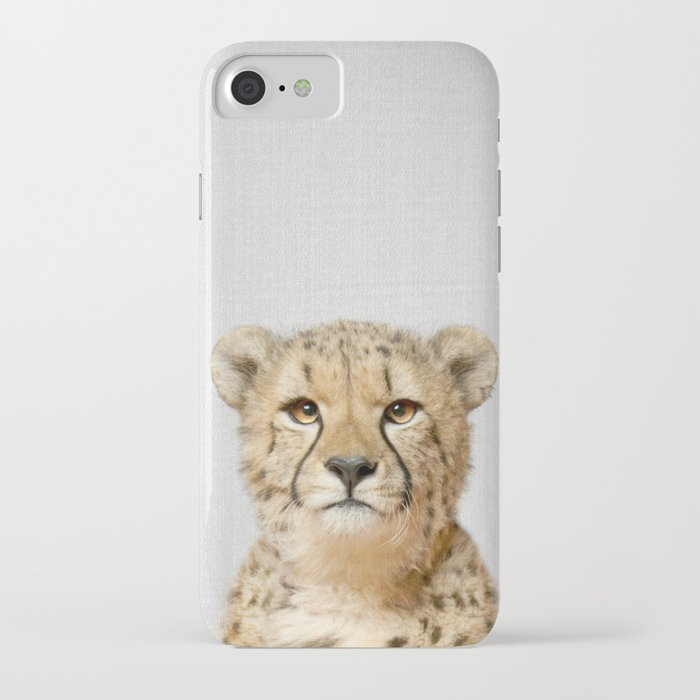 cheetah - colorful iphone case