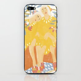 Botanical Girls iPhone Skin