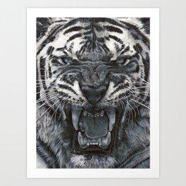 Tiger Roar! - By Julio Lucas Art Print