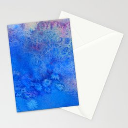 Forget-Me-Not Watercolor Texture Stationery Cards
