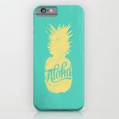 ALOHA - Pineapple print Slim Case iPhone 6