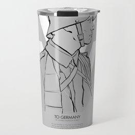 WW1 Centenary Travel Mug