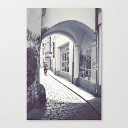Prague streets. Canvas Print