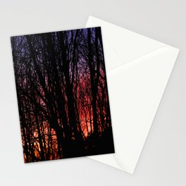 Forest Windows Stationery Cards