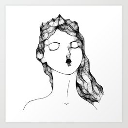Vida Art Print