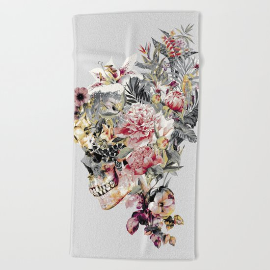 SKULL XII Beach Towel