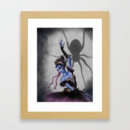 Spider Dancer Framed Art Print