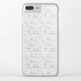 Minimal Pattern :: Half Circle Clear iPhone Case