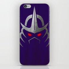 TMNT Shredder iPhone & iPod Skin