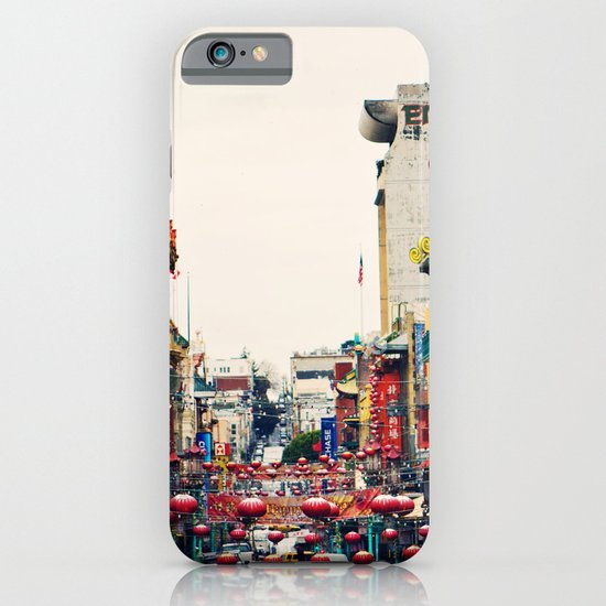 San Francisco China Town iPhone & iPod Case