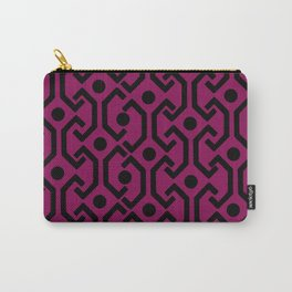 Ethnic Pattern (Purple) Carry-All Pouch