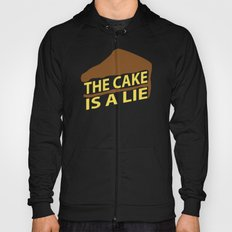 The Cake Is A Lie (Blue Version) Hoody