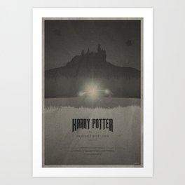 Deathly Hallows Pt. 2 Art Print