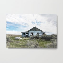 Genuflection of the Blues Metal Print