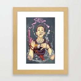 Have i gone mad Framed Art Print