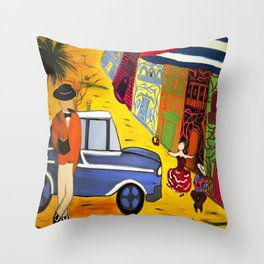 Imagining Havana Throw Pillow