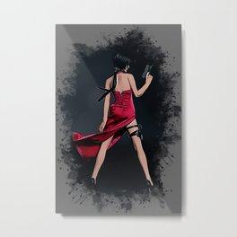 Ada Wong RE Metal Print