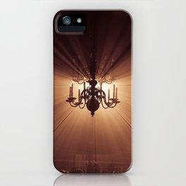 Behind the Candelabra iPhone Case