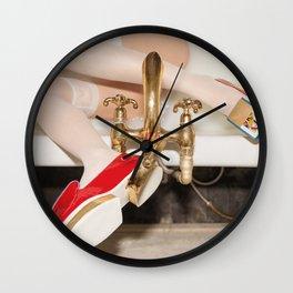 Getting Ready For School Wall Clock