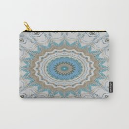 Dreamcatcher Teal Carry-All Pouch