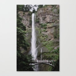 Multnomah Falls III Canvas Print
